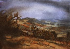 North Downs by delph-ambi