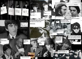 Beatles Collage XD by Dorfal