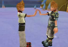 Roxas Ventus, -The same Person- by oOKira97Oo