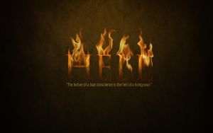 Hell Wallpaper by SynergyDigital