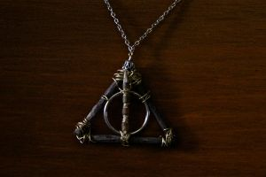 Deathly Hallows Necklace by There-is-no-box