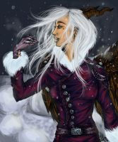 The First Snow by Indigo-Eagle