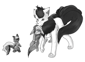 BW: She's ours now by Niv-Ryo