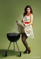 BBQ Pin-up by shanna-jones