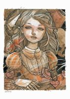 A Victorian Doll by nati