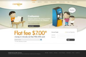 Cashsense Website by jpdguzman