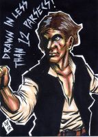 Han Solo PSC by Chris Foreman by chris-foreman