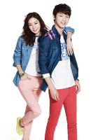 Render  Kang Sora and  Kang Min Huyk by UdsonDollySarah