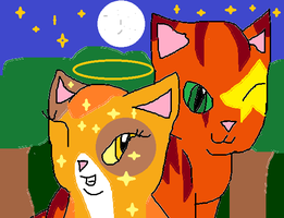 Firestar and Spottedleaf-Comment before favoriting by skyclan199