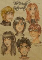 +the mortal instruments+ by marixon