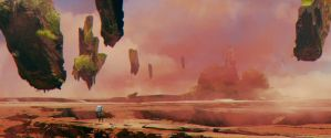 a Postcard from Mars by TheRealArtanas