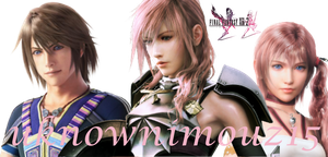 Final Fantasy XIII-2 WP by unknownimouz15