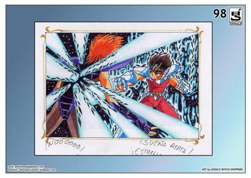 SEIYA ATTACKS by GERCROW