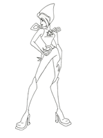 Winx Club Charmix Tecna coloring page by winxmagic237