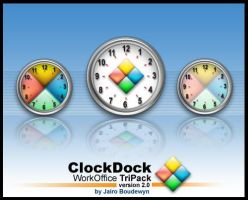 ClockDock Workoffice Pack by weboso