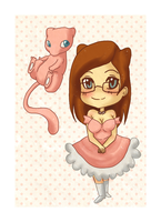 Jess and Mew by michielynn