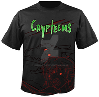 Crypteens Shirt by KikaiArt