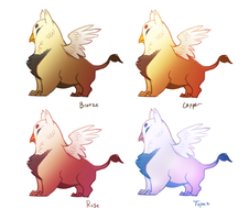 Gryphon ideas by TornAroundtheEdges
