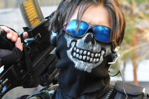 Call of Duty Cosplay Ghost by SPARTANalexandra