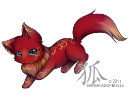 Berry-Kitsune : Inari by ShinshiAdoptables
