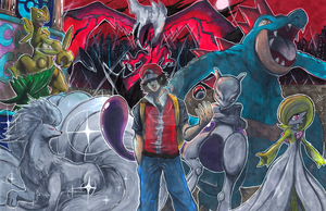 Commission: City Gym Leader by Pixelated-Takkun