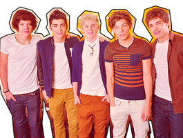 PNG One Direction by Ohsithisismyworld