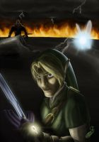 Link - Triforce of Courage by Bee999