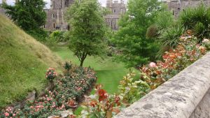 Windsor Castle's Moat Garden by CuriouSolo