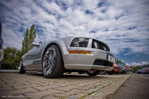 Silver Stang by AmericanMuscle