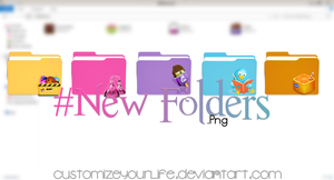 #New Folders {Png} by CustomizeYourLife