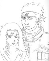Asuma and Kurenai by Firu-Kun