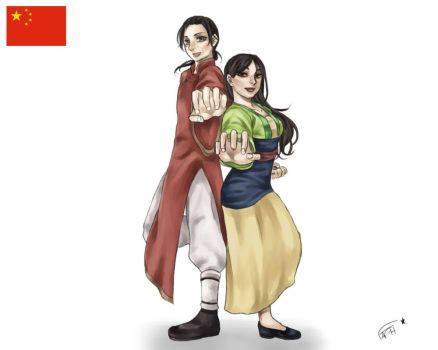 [APH x Disney] We are Chinese! by FAFH
