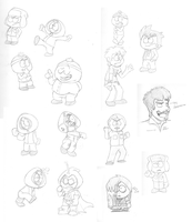 Random South Park Sketch Dump by koisnake