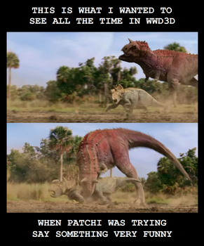 Meme time - Walking with Dinosaurs 3D by titanlizard