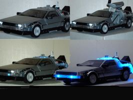 Delorean toy by tyger-strype