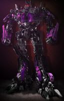 Nemesis Prime / Darkside Of Optimus Prime by Lady-Elita-1