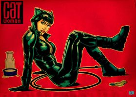 Catwoman by KomicKarl