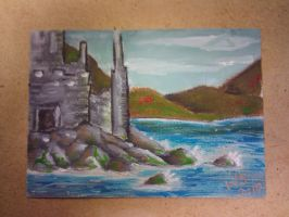 castle 2x3 inches by lefey23