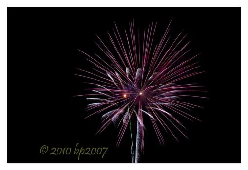 Fireworks - 5 by bp2007