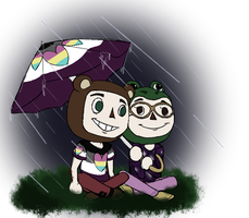 rainy boos by PresidentGasman