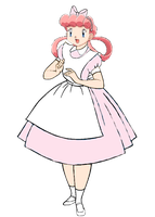 Nurse Joy in Wonderland by darthraner83