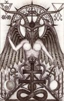 Baphomet 1 by mpv666