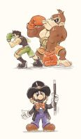 Super Mario Sketches 2 by JuanitoMedina