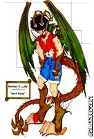 Devil Inside-One Piece-Colored by Ludra-Jenova