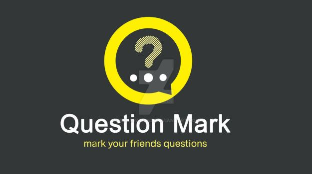 Question Mark Logo 02 by madaramonu