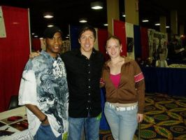 Me Wifey and Ray Park by DamageArts