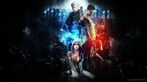 DmC - The Order Wallpaper by TheSyanArt