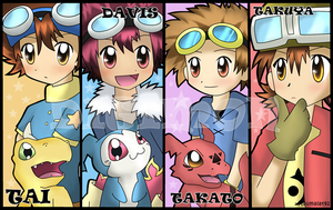 Digimon Boys by Km92