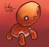 Trapinch .:New Art Style:. by FreakyFreak95