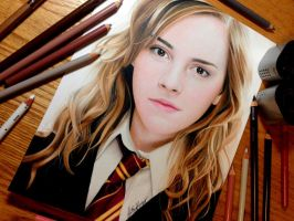 Drawing Hermione Granger by Heatherrooney